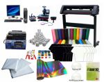 Advanced T-shirt Printing Vinyl Cutter & Heat press package Package